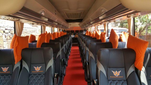 Fasilitas Bus Pariwisata Malang 2018