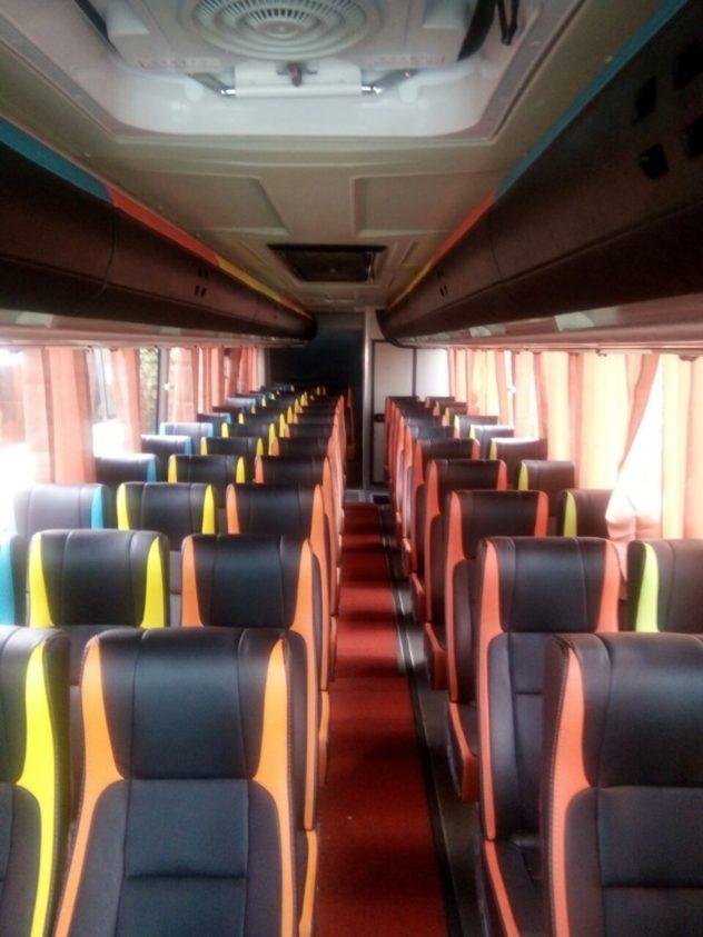 Fasilitas Bus Pariwisata