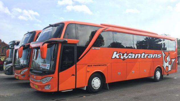 Bus Pariwisata Malang Jawa Timur